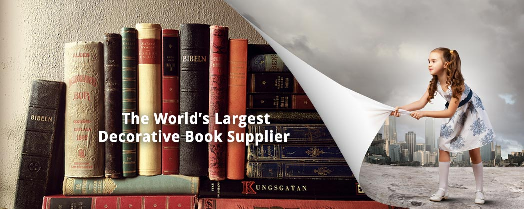 The World's Largest Decorative Book Supplier