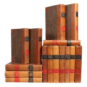 1930s Kipling Leather Books, S/15