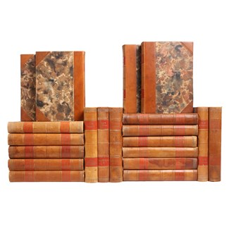 Jack London Leather-bound Books, S/20