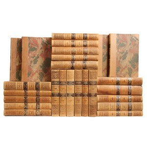 Designer Leather-bound Books, S/25