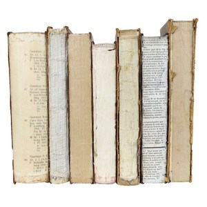 Deconstructed Antique Book, S/7