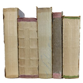 Deconstructed Antique Books, S/5