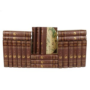 Antique Leather-Bound Books S/22