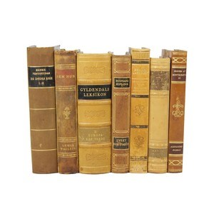 Leather Bound Books S/7