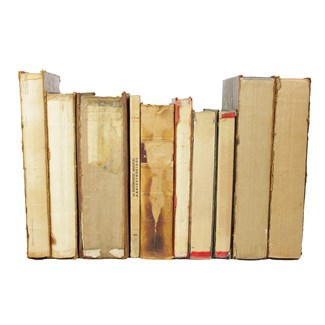 Deconstructed Hardback Books S/10