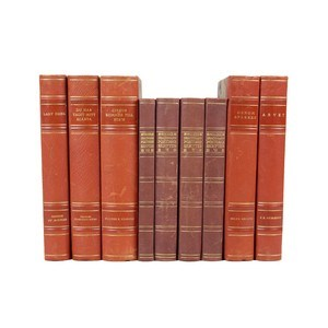 Leather-Bound Books S/9