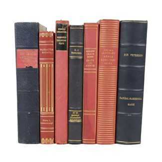 Leather-Bound Books S/8