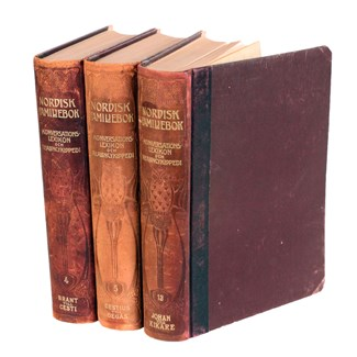 Designer Leather Books II, Set of 3