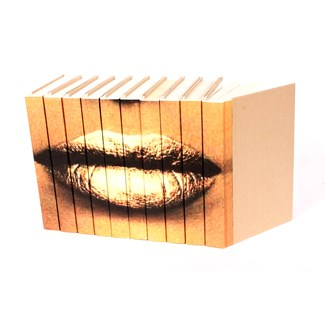 Image Collection - Lips Gold, S/10