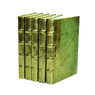 Exotic Metallic Collection - Chartreuse, Set of 5