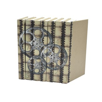 Image Collection - Film Reels Silver Screen, S/7