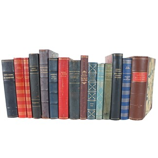 Designer Leather Books, S/15
