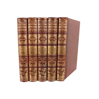 Designer Leather Books, S/5